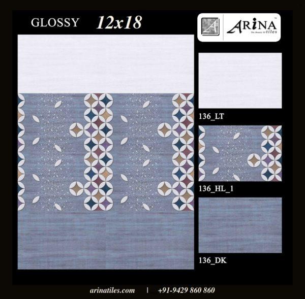 136 - 12x18 Wall Tiles