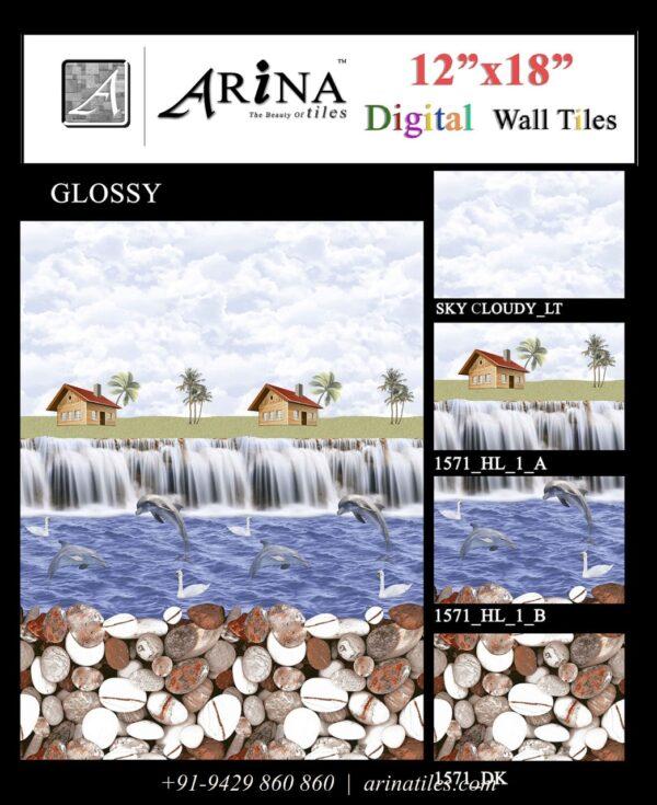 1571 - 12x18 Bathroom Wall Tiles-min
