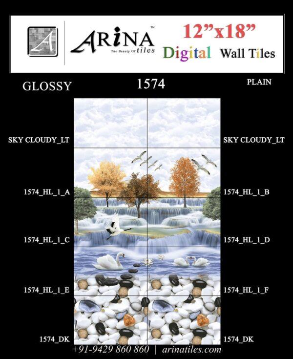 1574 - 12x18 Bathroom Wall Tiles-min
