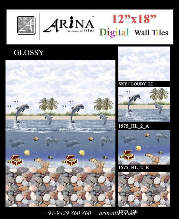 1575 - 12x18 Bathroom Wall Tiles-min