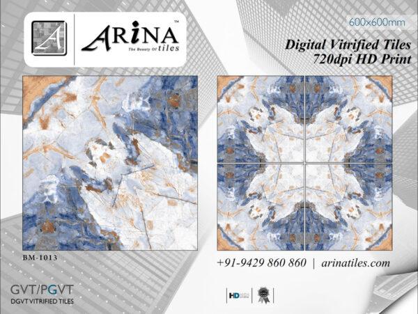 24x24 Digital Vitrified Tiles - Bookmatch Series (11)