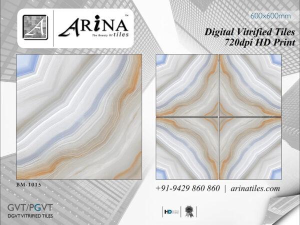 24x24 Digital Vitrified Tiles - Bookmatch Series (13)