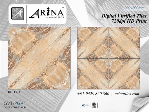 24x24 Digital Vitrified Tiles - Bookmatch Series (14)