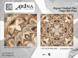 24x24 Digital Vitrified Tiles - Bookmatch Series (22)