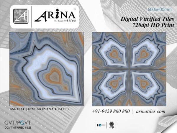 24x24 Digital Vitrified Tiles - Bookmatch Series (23)