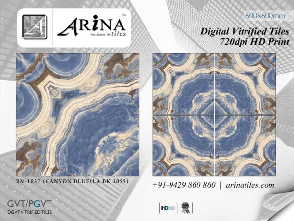 24x24 Digital Vitrified Tiles - Bookmatch Series (24)