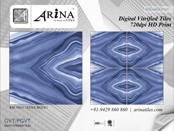 24x24 Digital Vitrified Tiles - Bookmatch Series (33)