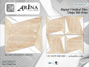 24x24 Digital Vitrified Tiles - Bookmatch Series (44)