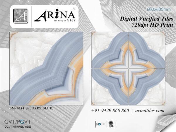 24x24 Digital Vitrified Tiles - Bookmatch Series (46)