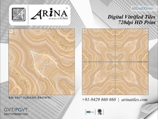 24x24 Digital Vitrified Tiles - Bookmatch Series (47)