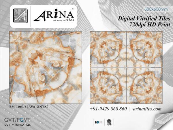 24x24 Digital Vitrified Tiles - Bookmatch Series (50)