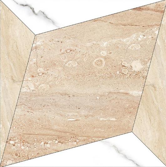 24x24 Digital Vitrified Tiles - Bookmatch Series Single Design (44)