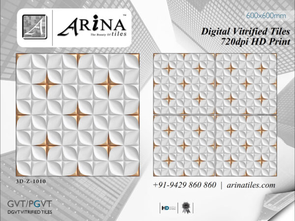 24x24 Digital Vitrified Tiles by ARiNA Tiles (3)