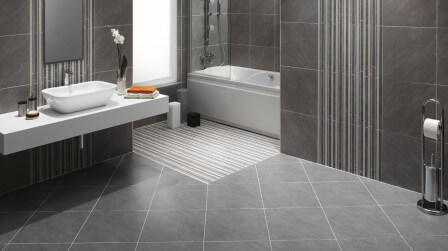 24x24 bathroom Porcelain floor tiles manufacturer company in morbi
