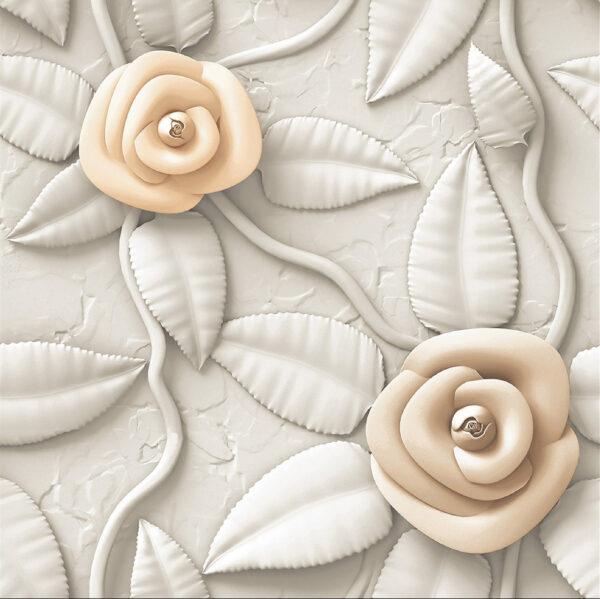 3d Z 1059 (Royal Rose) - 24X24 Digital Vitrified tiles by ARiNA Tiles Solo