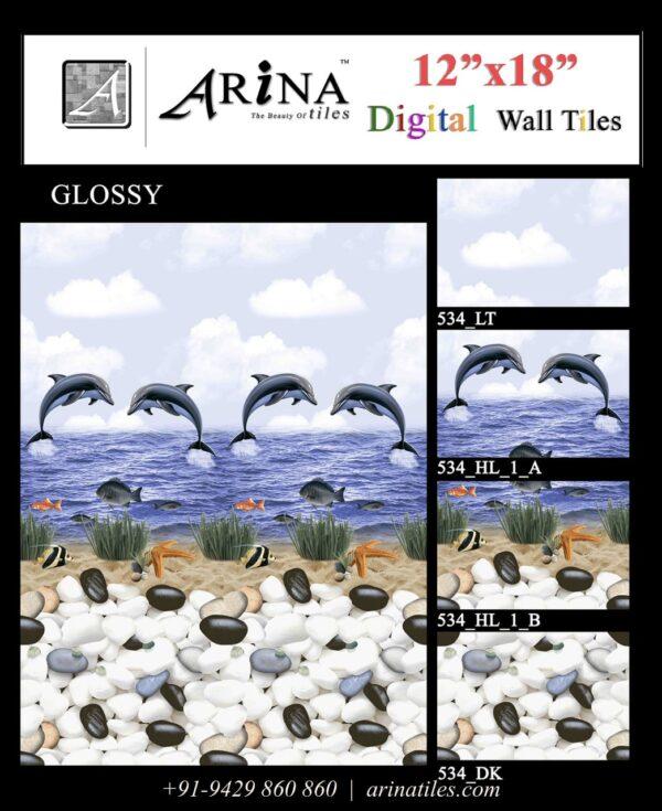 534 - 12x18 Bathroom Wall Tiles-min