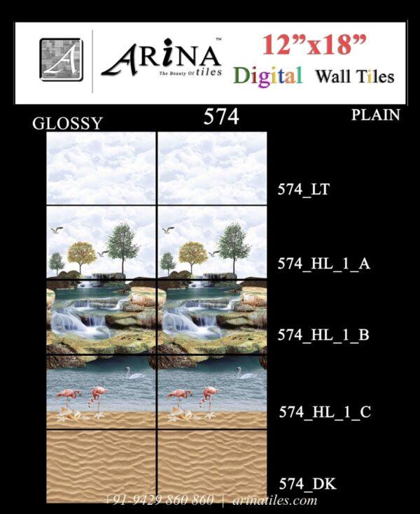 574 - 12x18 Bathroom Wall Tiles-min