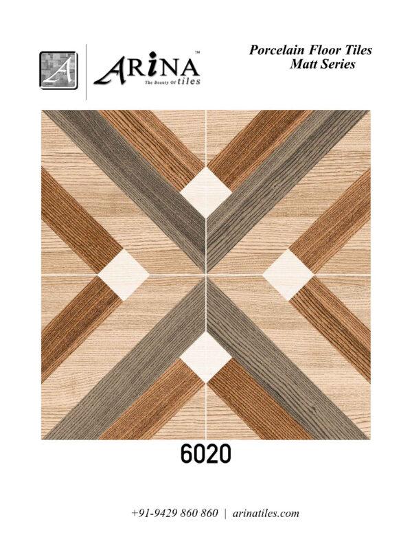6020 - 24x24 Porcelain Floor Tiles (70)