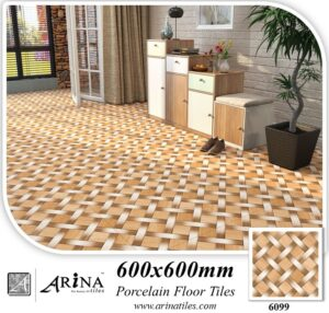 6099 24x24 (600x600mm) Porcelain matt floor tiles