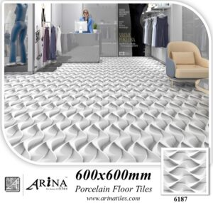 6187 - 24x24 Porcelain floor tiles