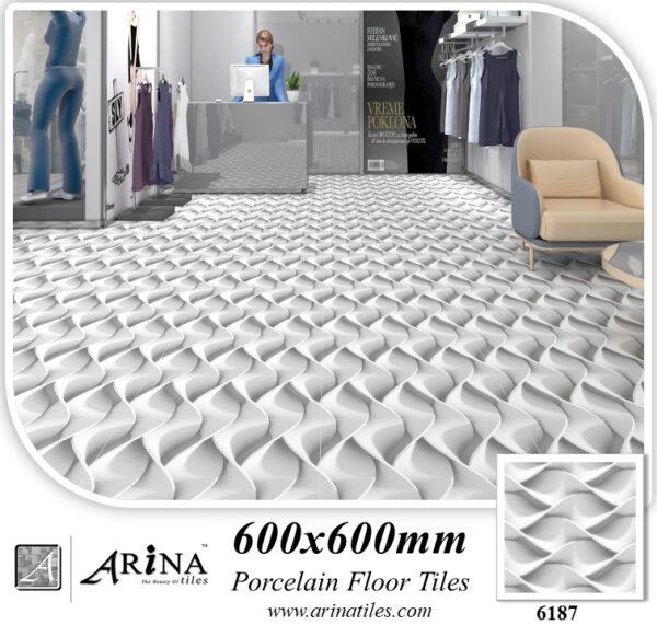 6187 - 24x24 Porcelain floor tiles
