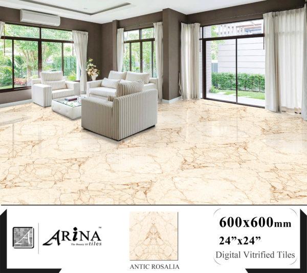ANTIC ROSALIA Preview - 24x24 Digital Vitrified Tiles