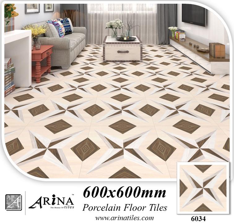Arina 24x24 Porcelain Tiles 6034