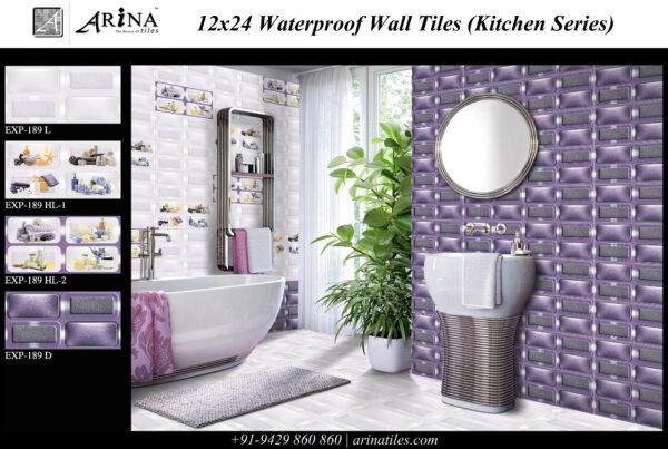 EXP - 189 - 12x24 Wall Tiles