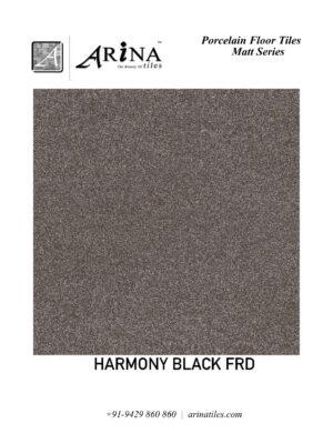 HARMONY BLACK FRD - 24x24 Porcelain Floor Tiles (23)