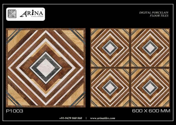 P1003 - 24x24 Porcelain Floor Tiles