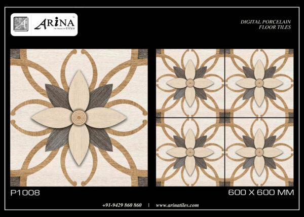 P1008 - 24x24 Porcelain Floor Tiles