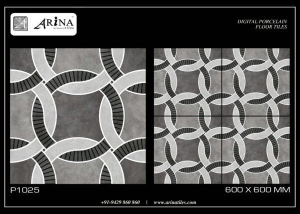 P1025 - 24x24 Porcelain Floor Tiles
