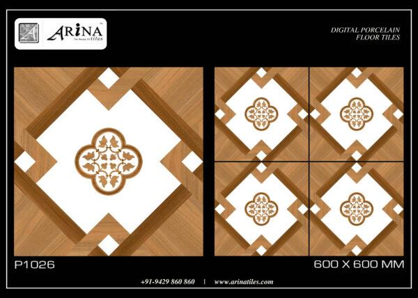 P1026 - 24x24 Porcelain Floor Tiles