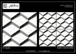 P1028 - 24x24 Porcelain Floor Tiles