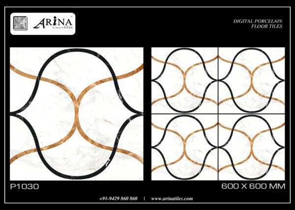 P1030 - 24x24 Porcelain Floor Tiles