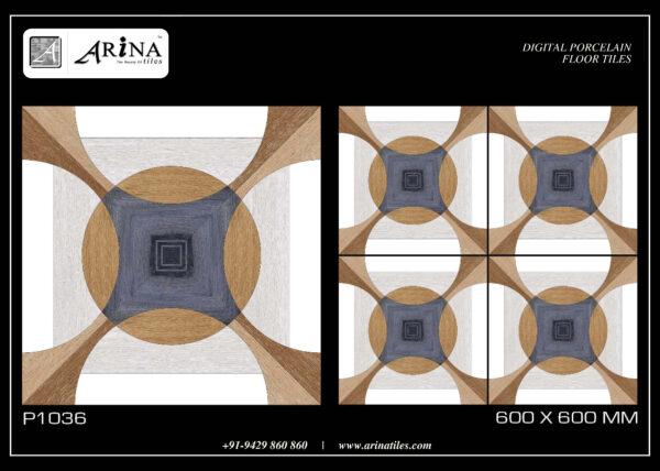P1036 - 24x24 Porcelain Floor Tiles
