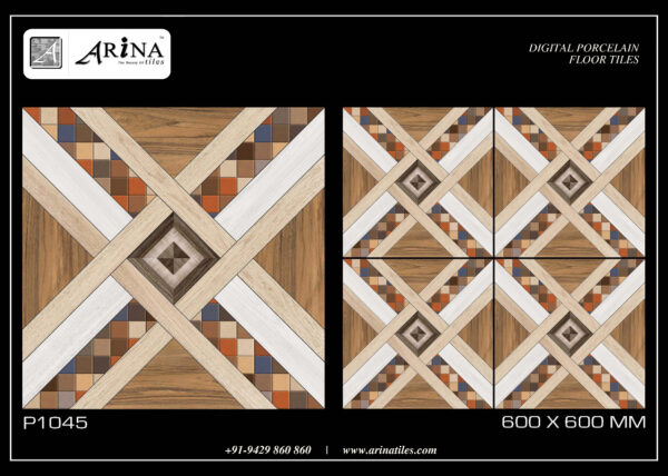 P1045 - 24x24 Porcelain Floor Tiles