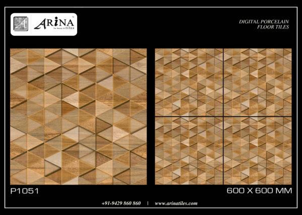 P1051 - 24x24 Porcelain Floor Tiles