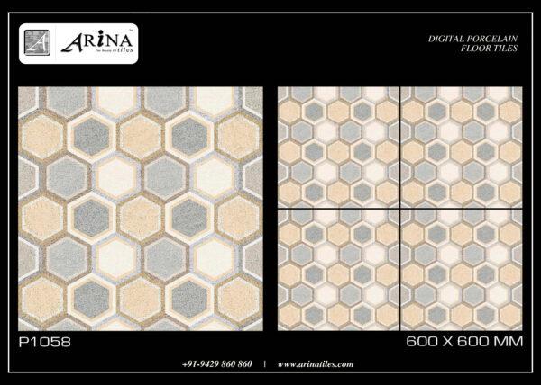 P1058 - 24x24 Porcelain Floor Tiles