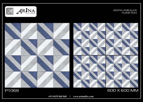 P1068- 24x24 Porcelain Floor Tiles