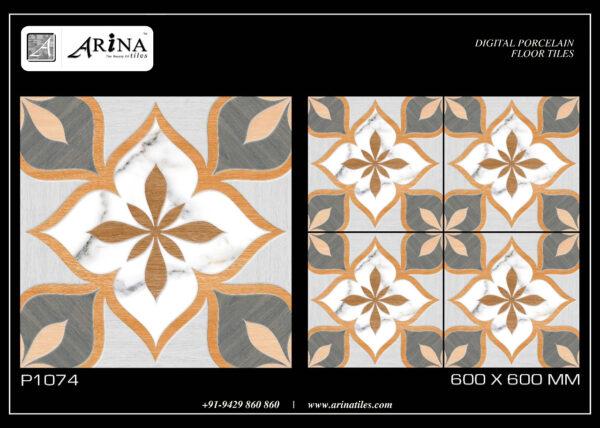 P1074- 24x24 Porcelain Floor Tiles