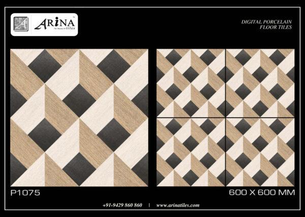 P1075- 24x24 Porcelain Floor Tiles