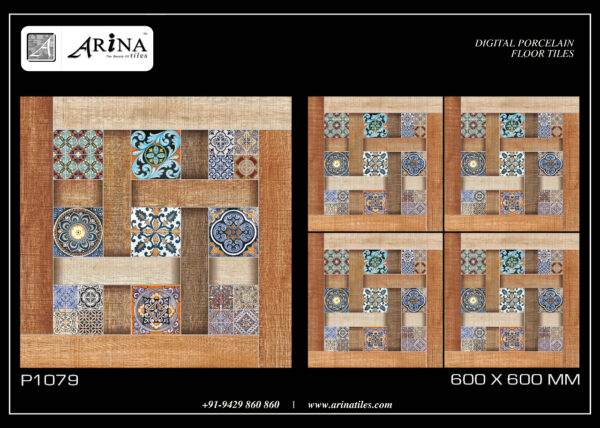 P1079- 24x24 Porcelain Floor Tiles
