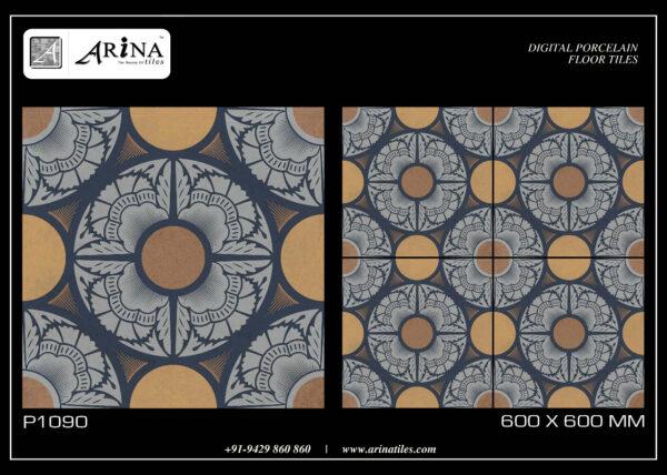 P1090- 24x24 Porcelain Floor Tiles