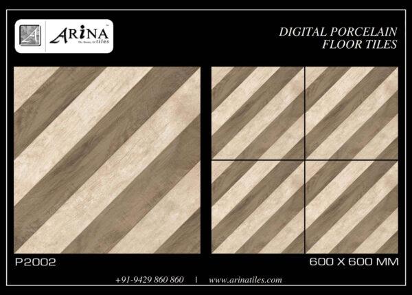 P2002- 24x24 Porcelain Floor Tiles