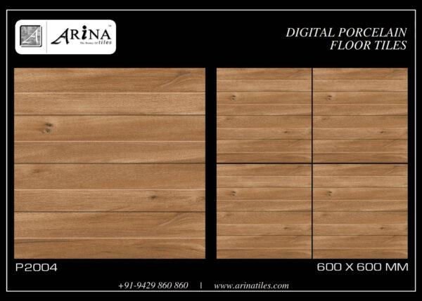 P2004- 24x24 Porcelain Floor Tiles