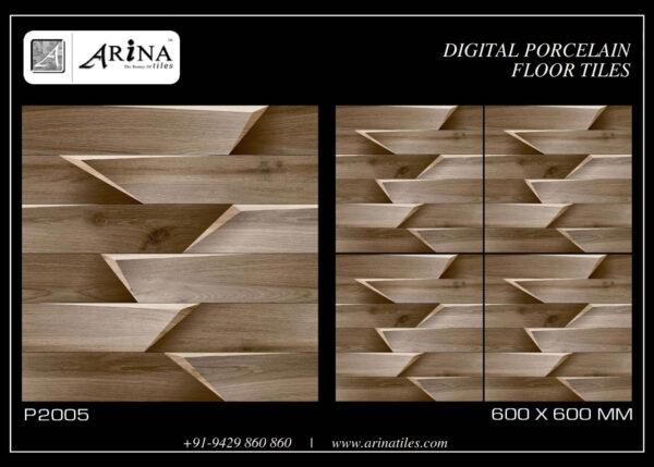 P2005- 24x24 Porcelain Floor Tiles