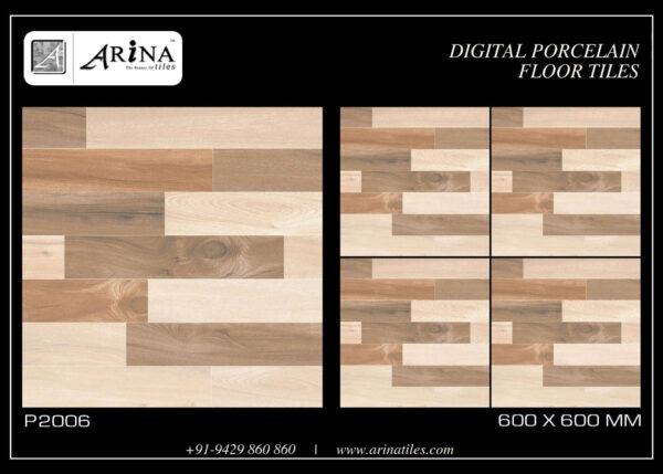 P2006- 24x24 Porcelain Floor Tiles