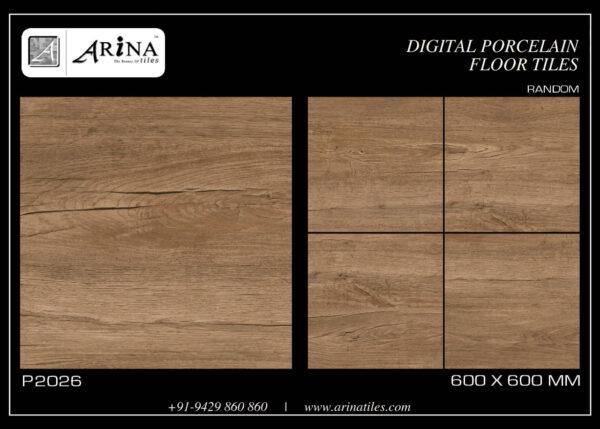 P2026- 24x24 Porcelain Floor Tiles
