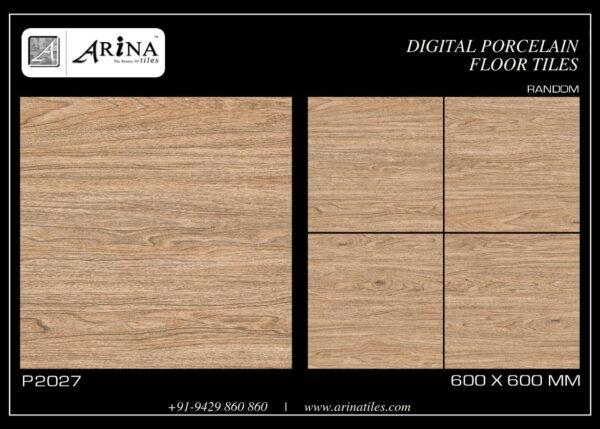 P2027- 4x24 Porcelain Floor Tiles